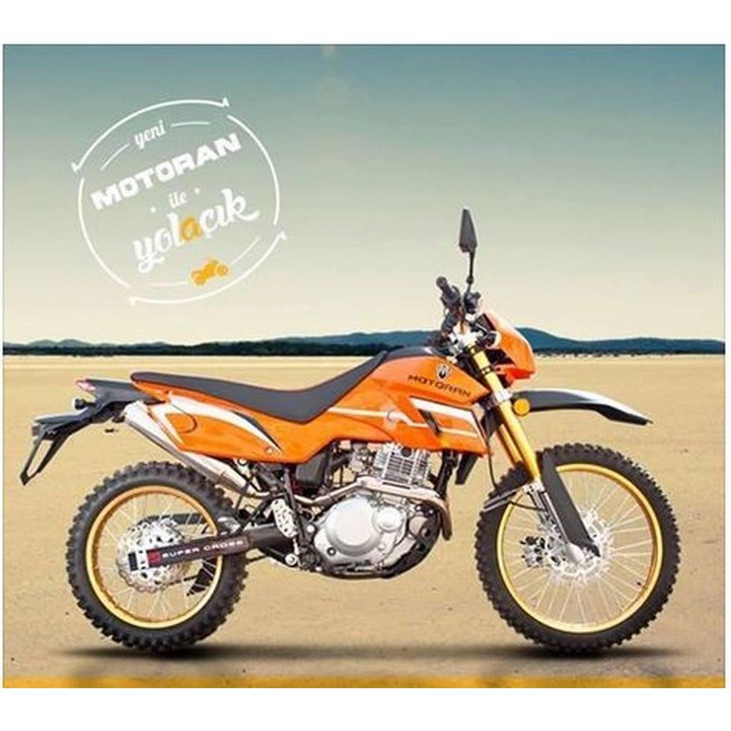 MOTORAN CROSS XF200 STATÖR #XF200E20042   MOTORAN CROSS 250